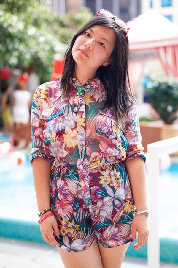 Cute Floral Print Summer Attires3.3