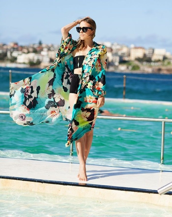 Cute Floral Print Summer Attires4.1
