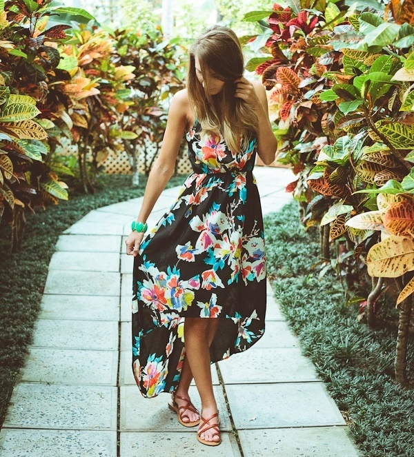 Cute Floral Print Summer Attires8