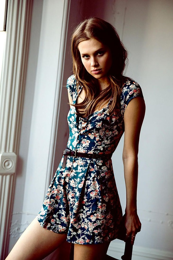 Cute Floral Print Summer Attires9