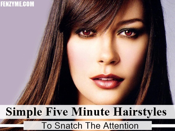 Simple Five Minute Hairstyles (1)