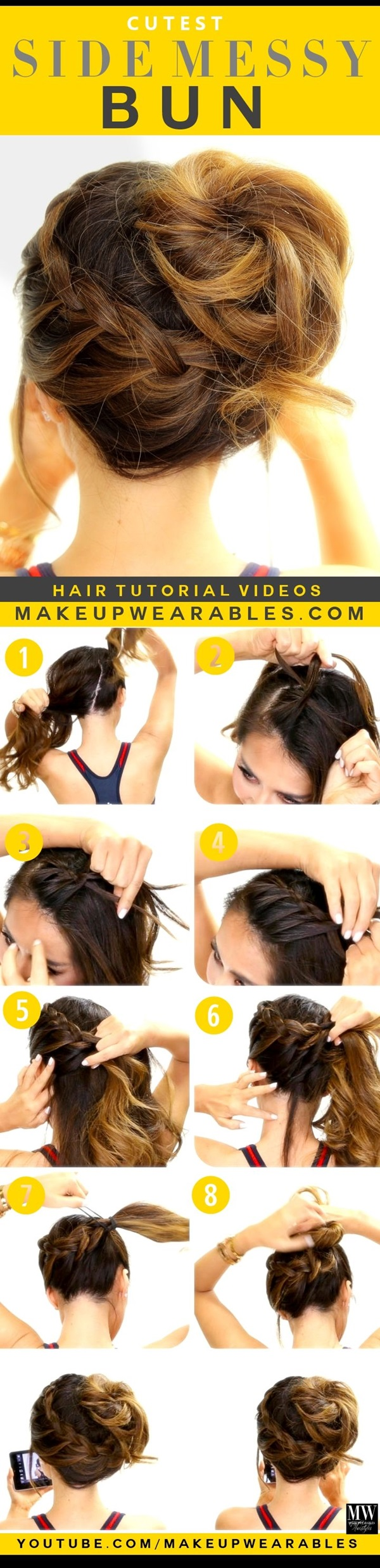 Simple Five Minute Hairstyles (37)