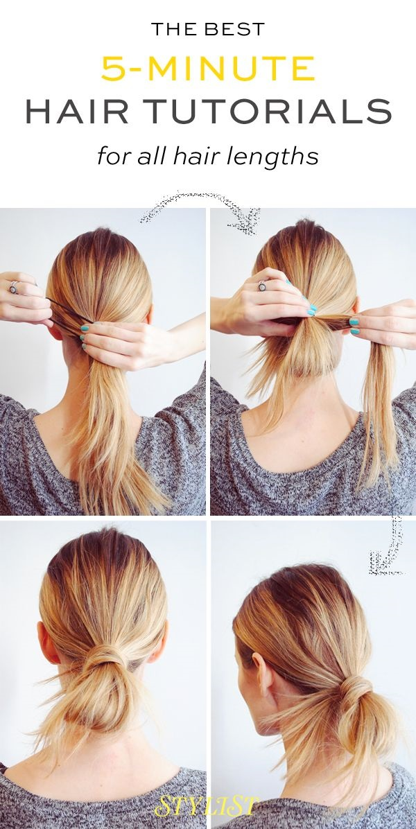 Simple Five Minute Hairstyles (38)
