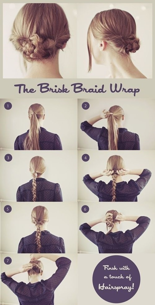 Simple Five Minute Hairstyles (39)