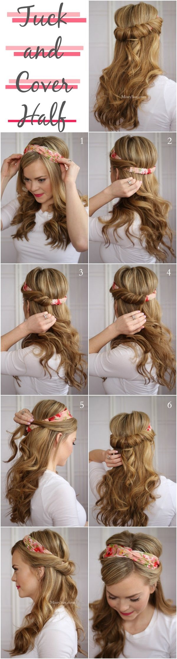 Simple Five Minute Hairstyles (42)