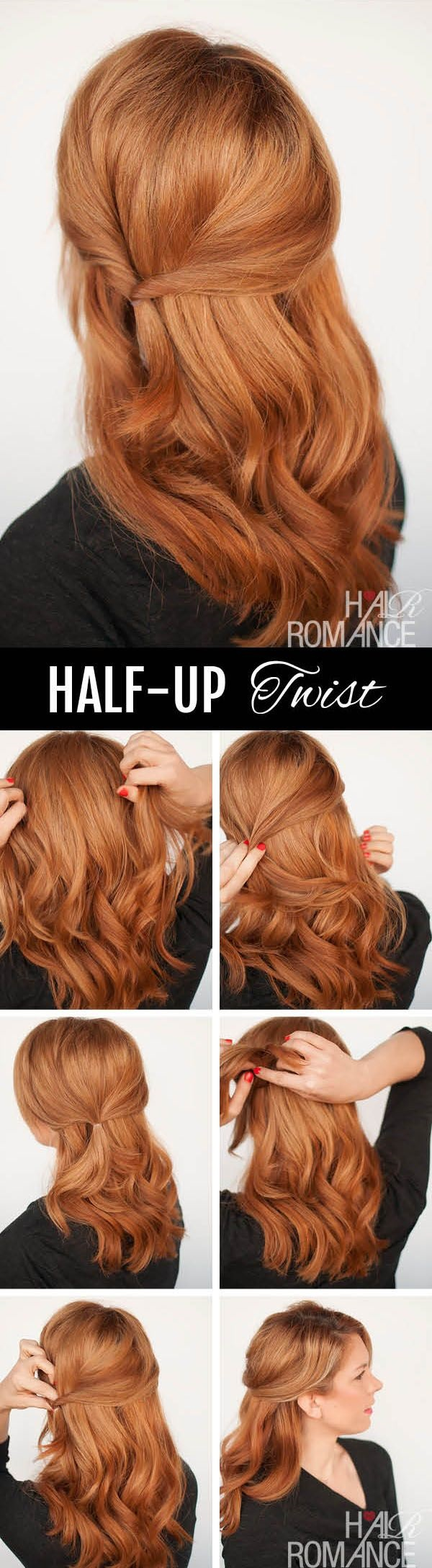 Simple Five Minute Hairstyles (47)
