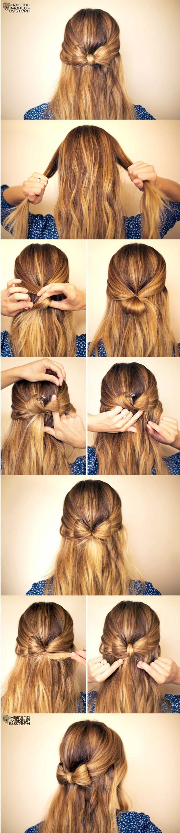 Simple Five Minute Hairstyles (50)