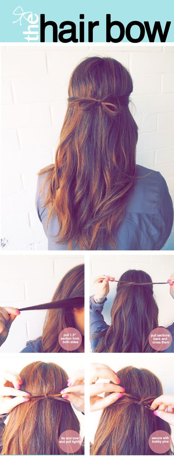 Simple Five Minute Hairstyles (52)