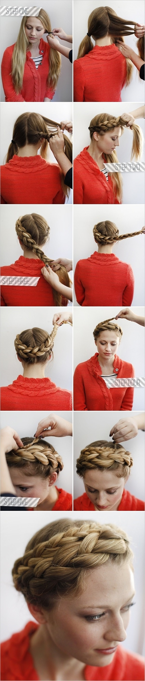 Simple Five Minute Hairstyles (57)