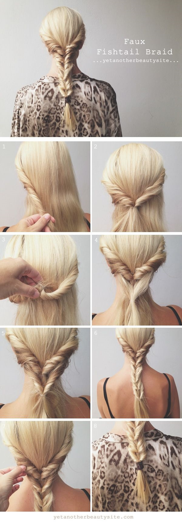 Simple Five Minute Hairstyles (60)