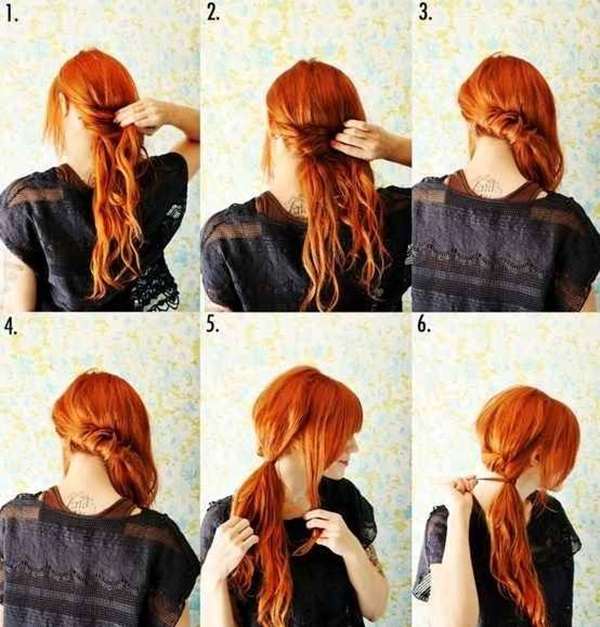 Simple Five Minute Hairstyles (61)