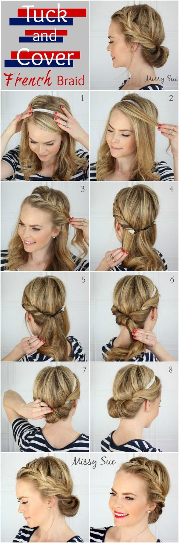 Simple Five Minute Hairstyles (63)