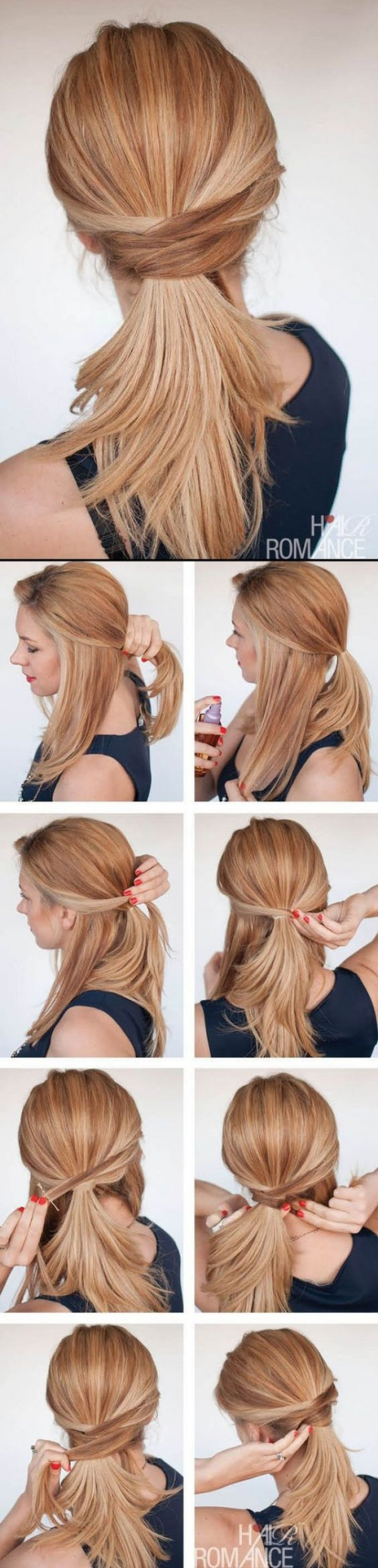 Simple Five Minute Hairstyles00001