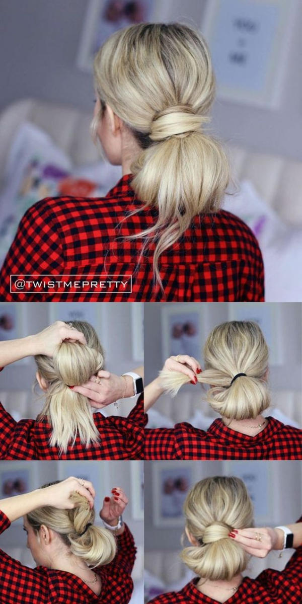 Simple Five Minute Hairstyles00009