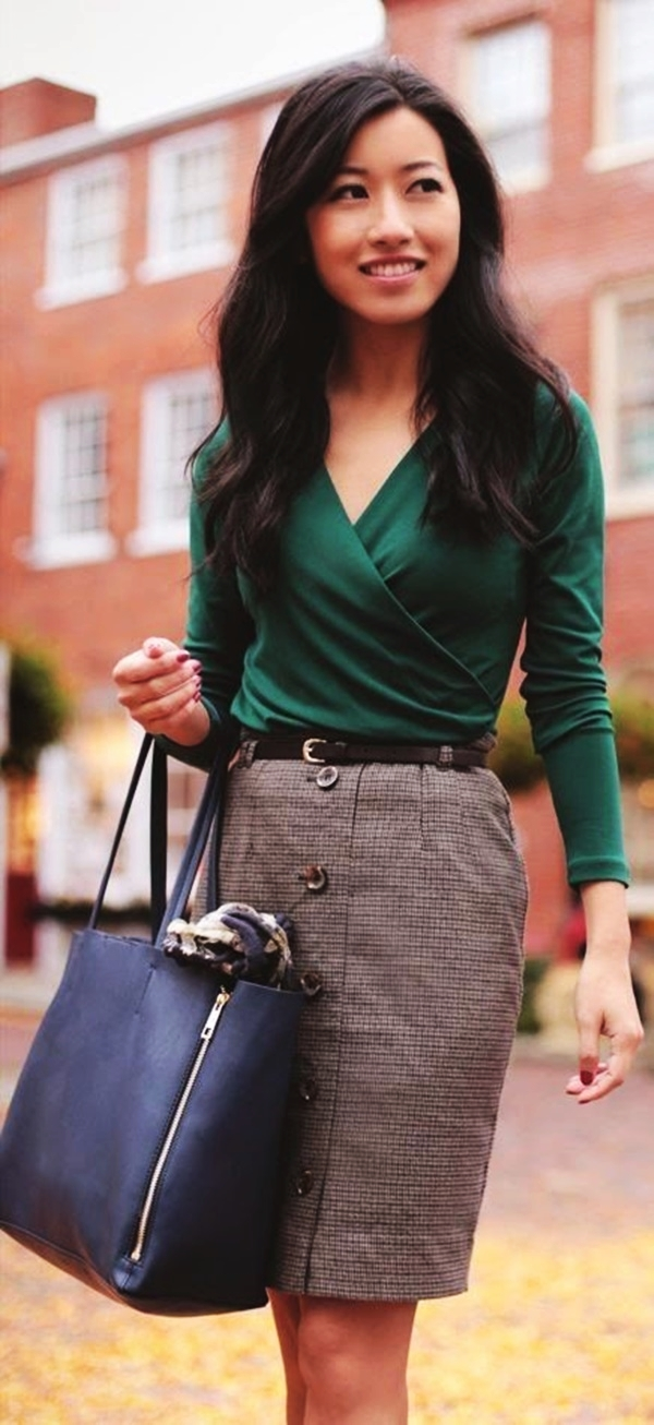 Autumn Work Outfit Ideas45