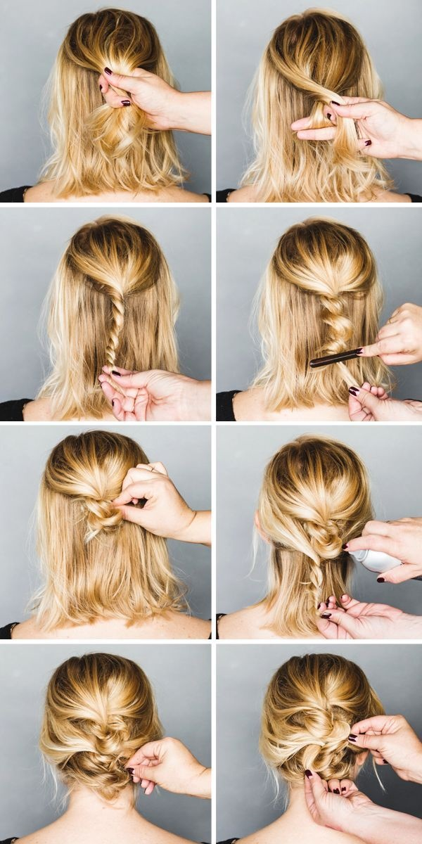 Easy Step By Step Hairstyles for Long Hair14