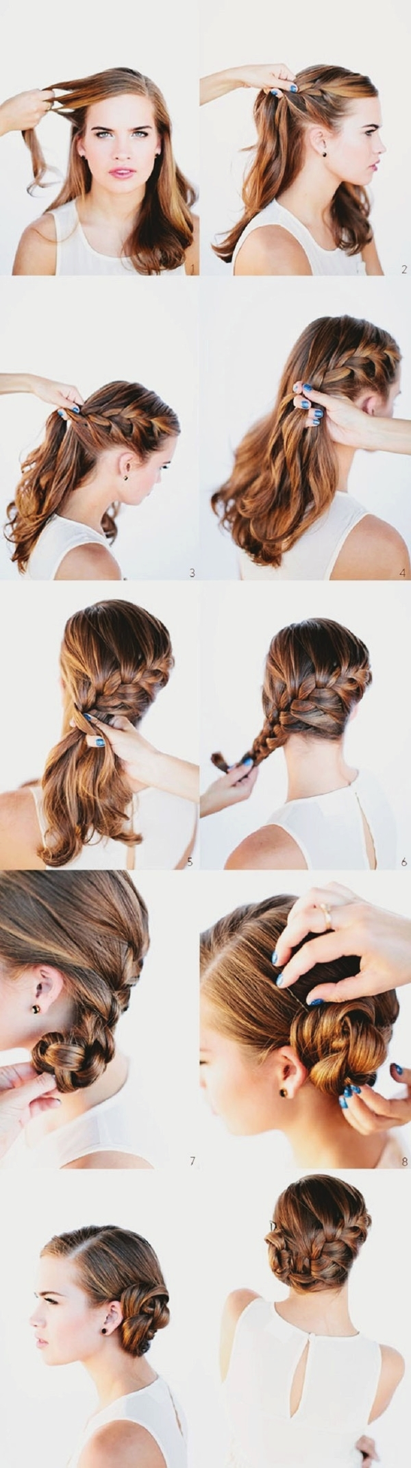 Easy Step By Step Hairstyles for Long Hair16