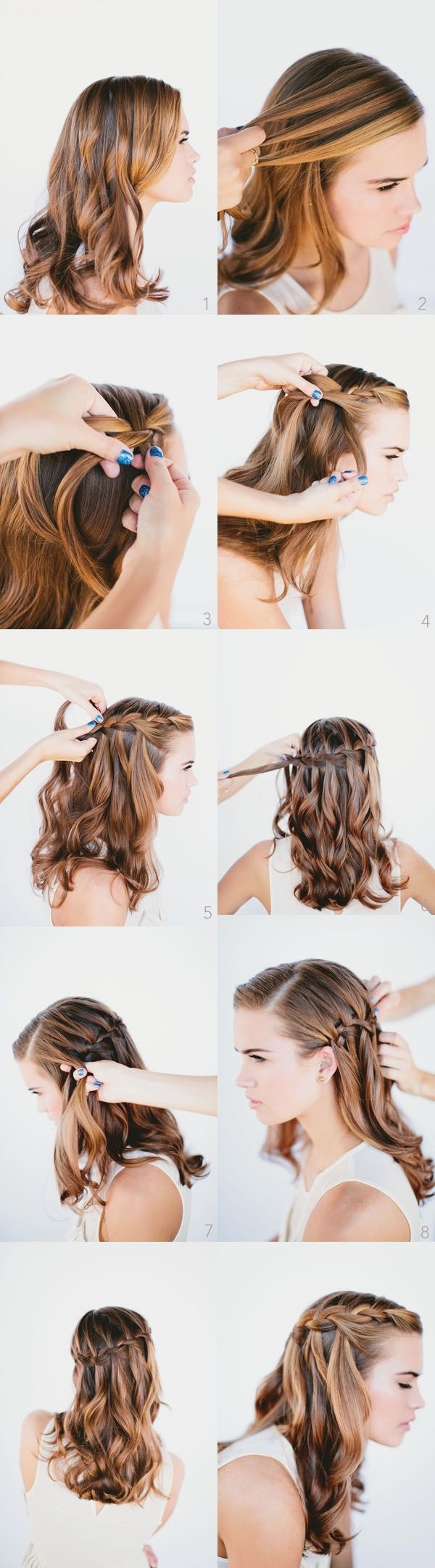 Easy Step By Step Hairstyles for Long Hair6