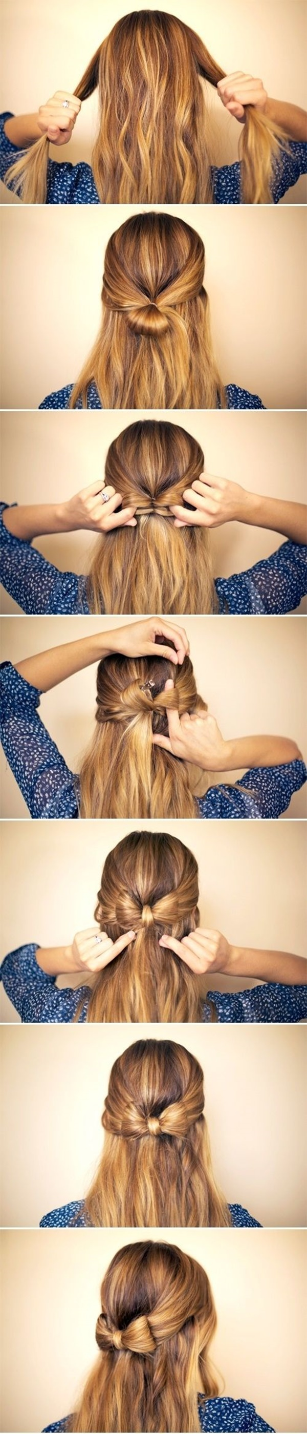 Easy Step By Step Hairstyles for Long Hair9