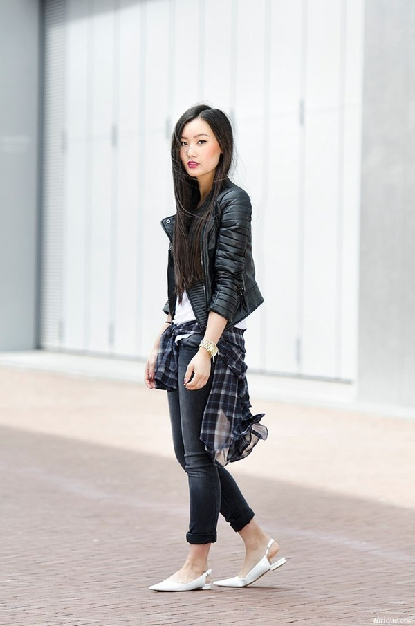Leather Jacket Outfit (1)