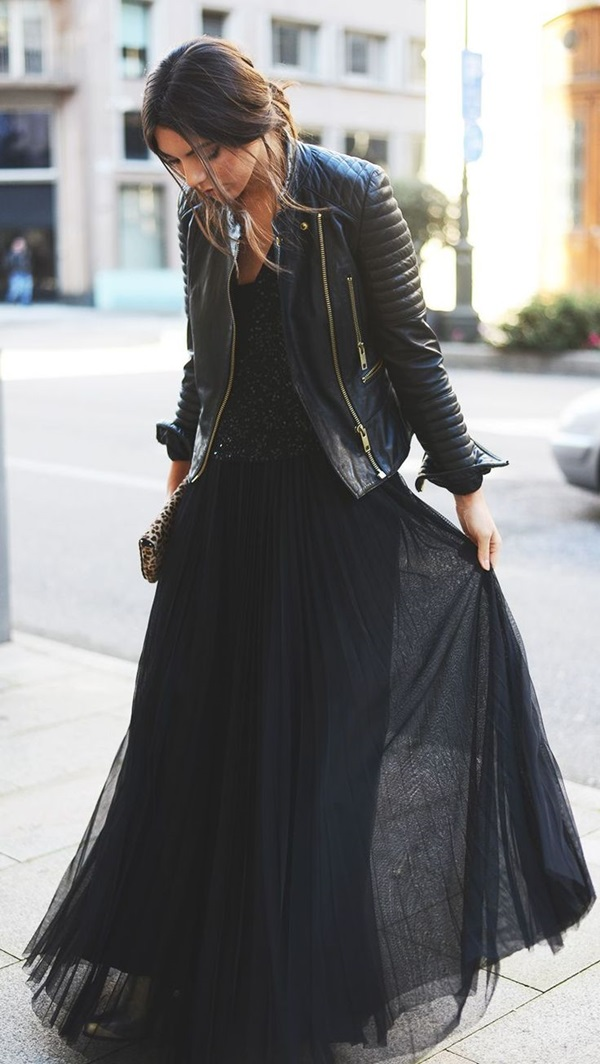 Leather Jacket Outfit (4)