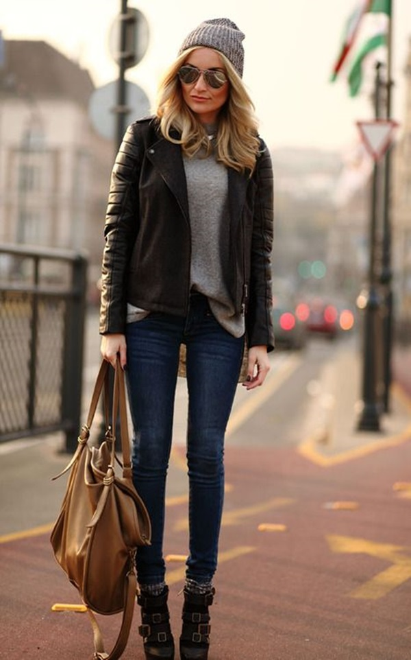 Leather Jacket Outfit (6)
