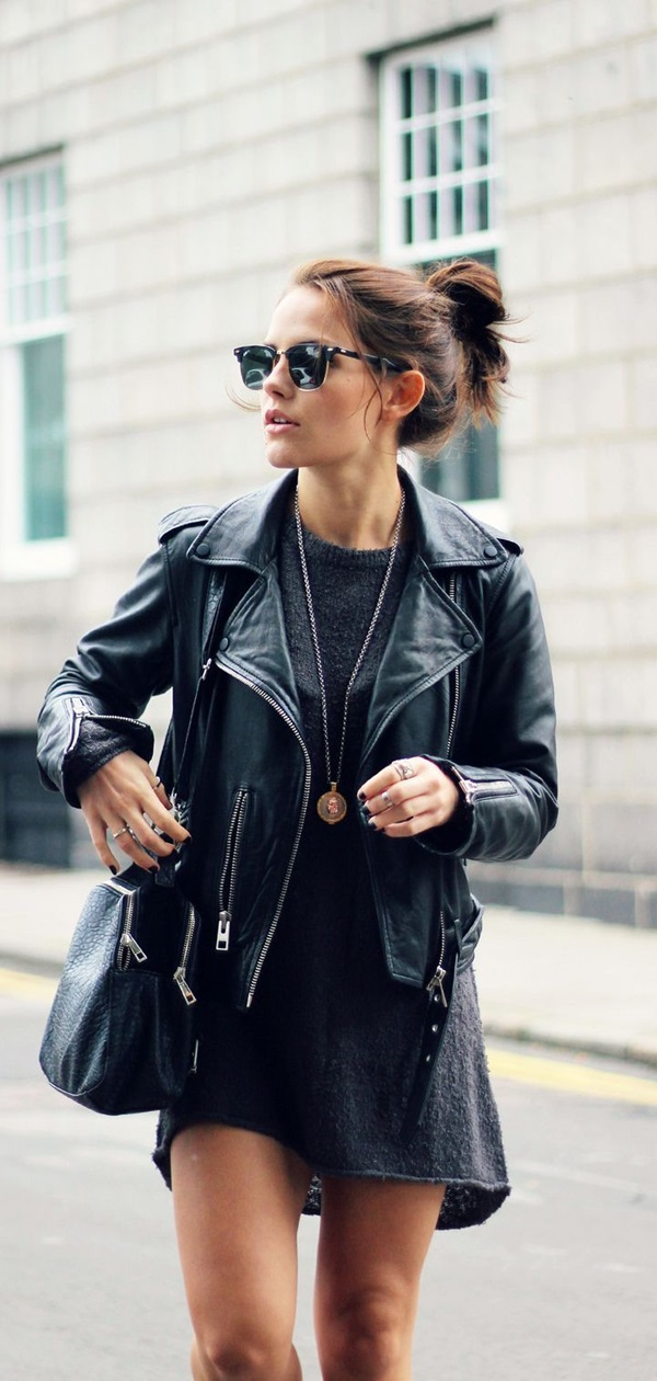 Leather Jacket Outfit (8)