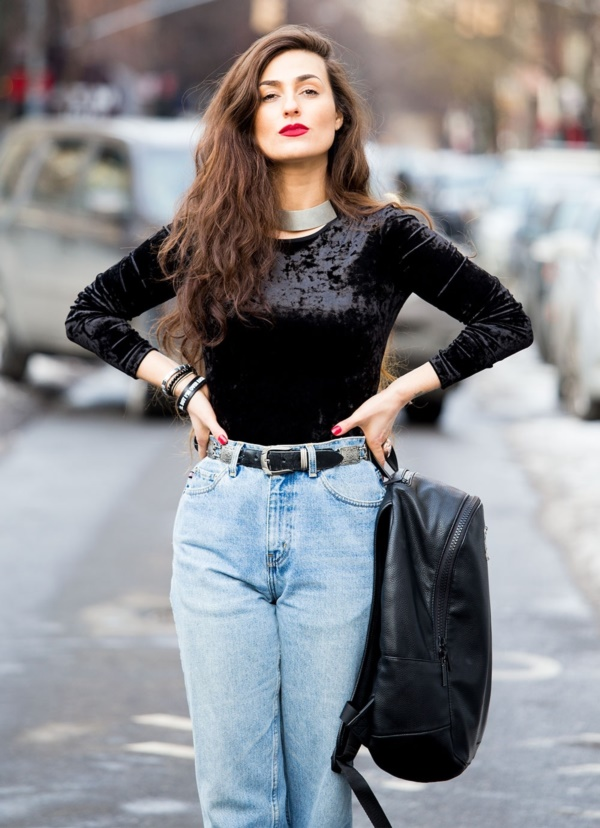 Styling Ideas to wear high waisted Shorts and Jeans0061