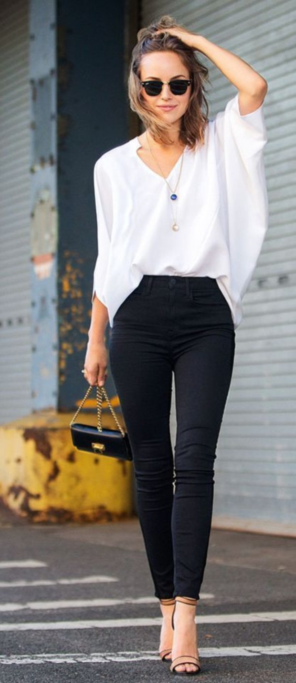 Styling Ideas to wear high waisted Shorts and Jeans0111