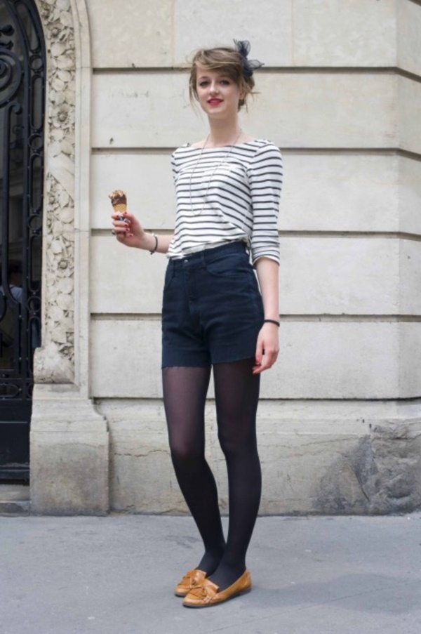 Styling Ideas to wear high waisted Shorts and Jeans0201