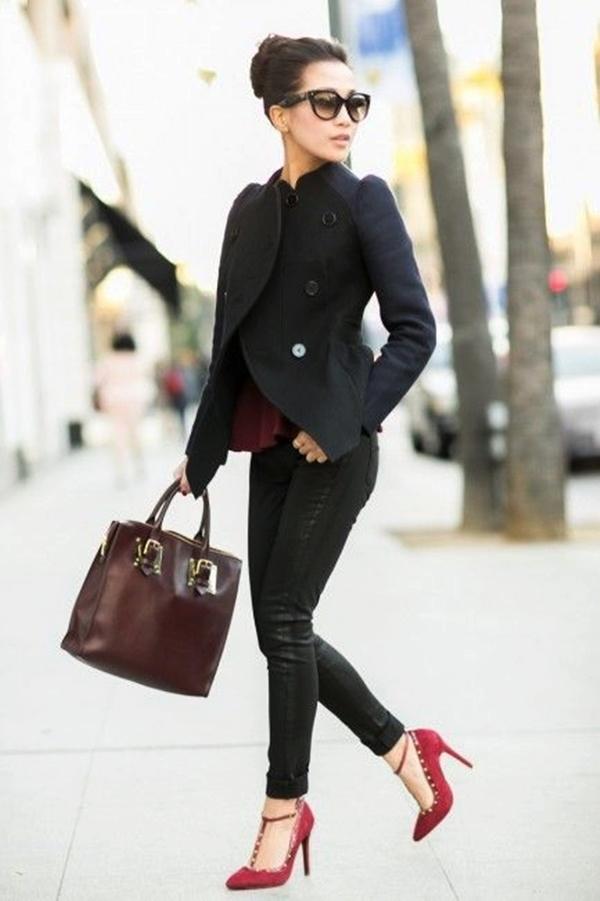 Chic Street style women fashion12