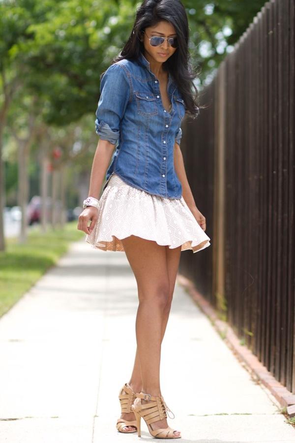 Chic Street style women fashion19