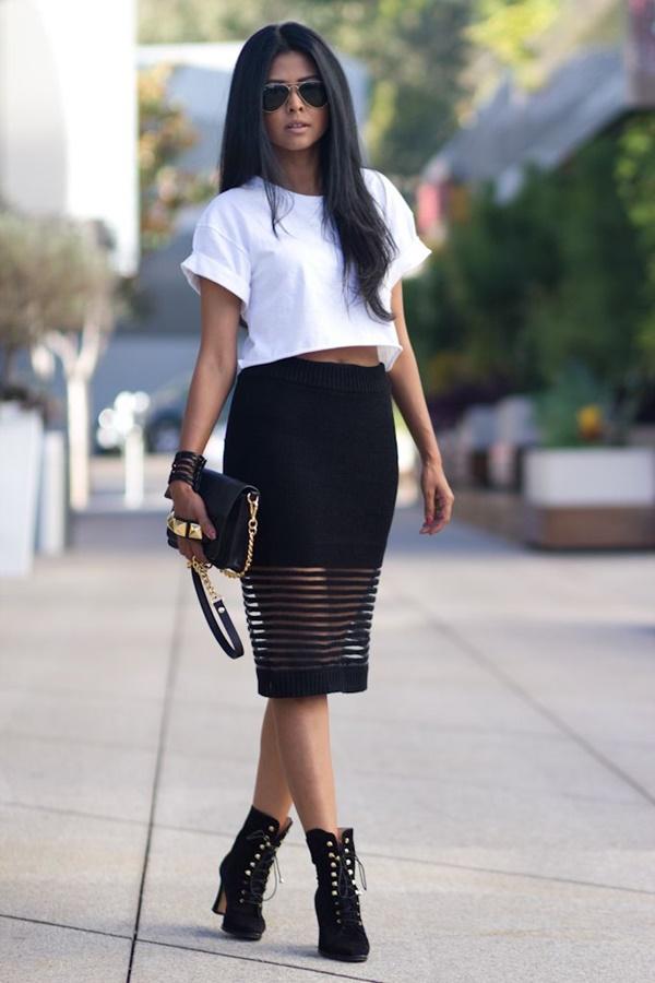 Chic Street style women fashion25