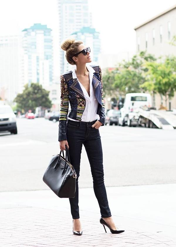 Chic Street style women fashion26