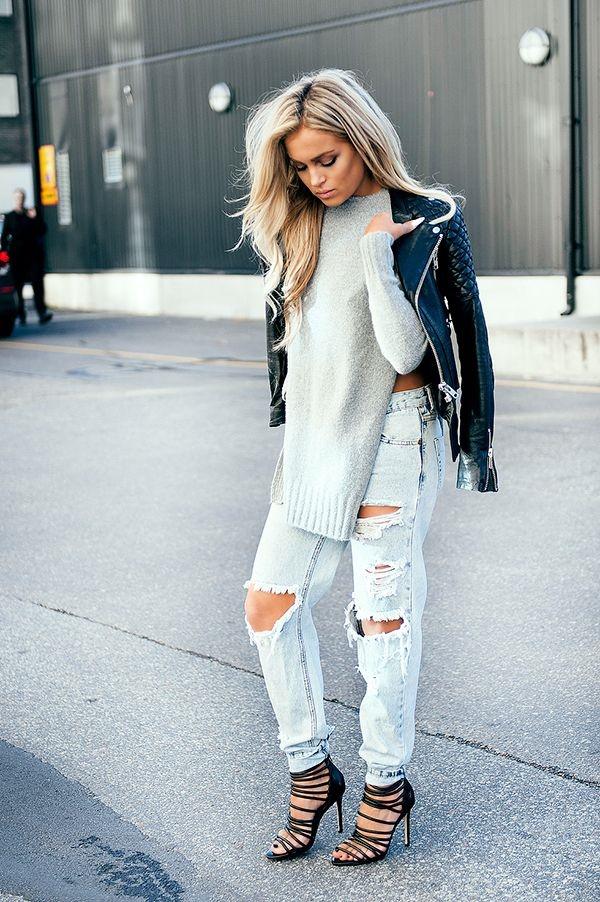 Chic Street style women fashion30