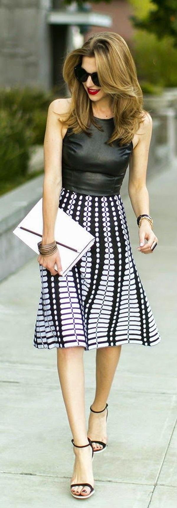 Chic Street style women fashion33