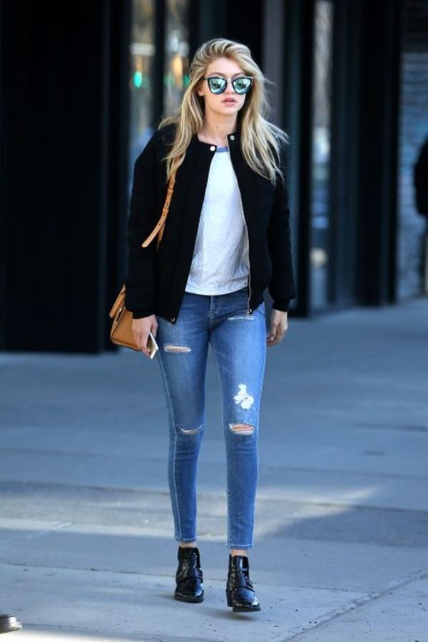 Chic Street style women fashion35