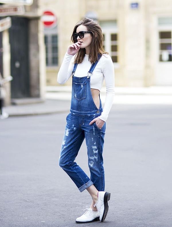 Chic Street style women fashion4