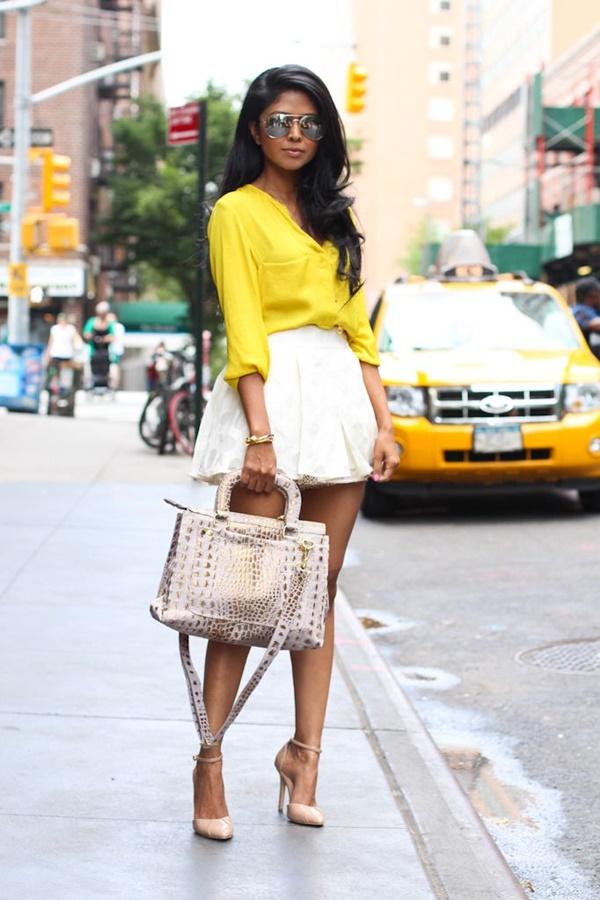 Chic Street style women fashion43