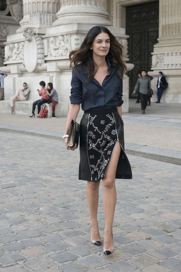 Chic Street style women fashion47