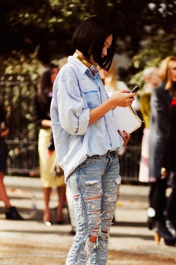 Chic Street style women fashion8