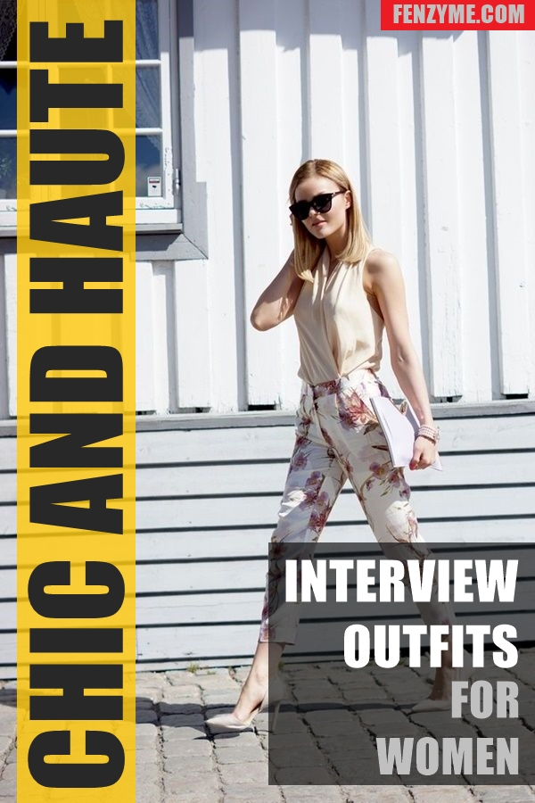 Chic and Haute Interview Outfits for women1.1