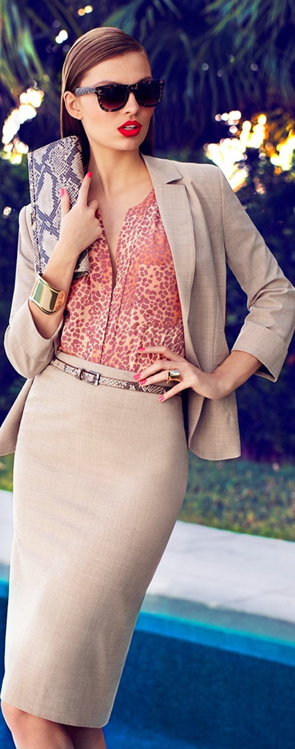 Chic and Haute Interview Outfits for women33