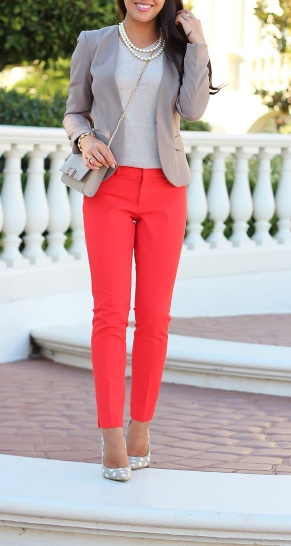 Chic and Haute Interview Outfits for women34