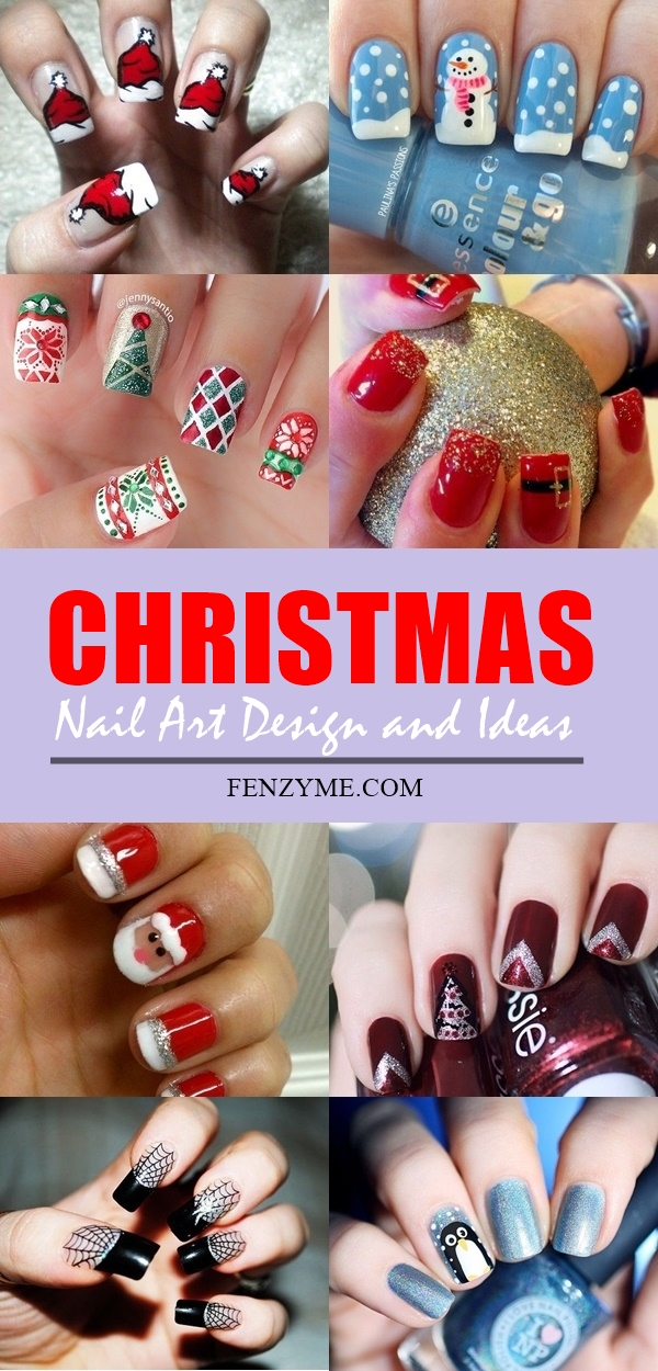 Christmas Nail art Designs and Ideas1.1