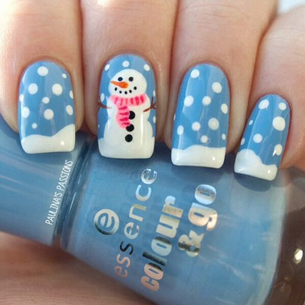 Christmas Nail art Designs and Ideas10