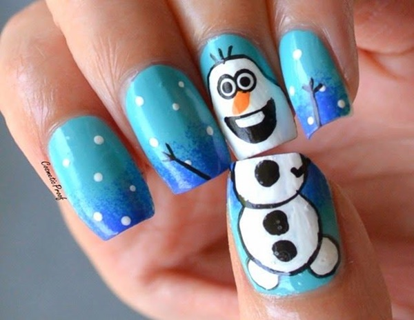 Christmas Nail art Designs and Ideas11