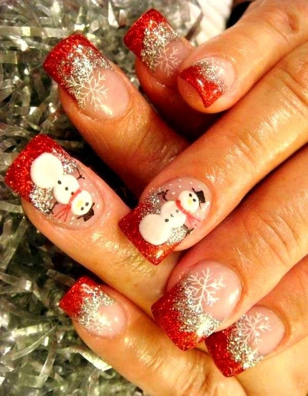 Christmas Nail art Designs and Ideas12