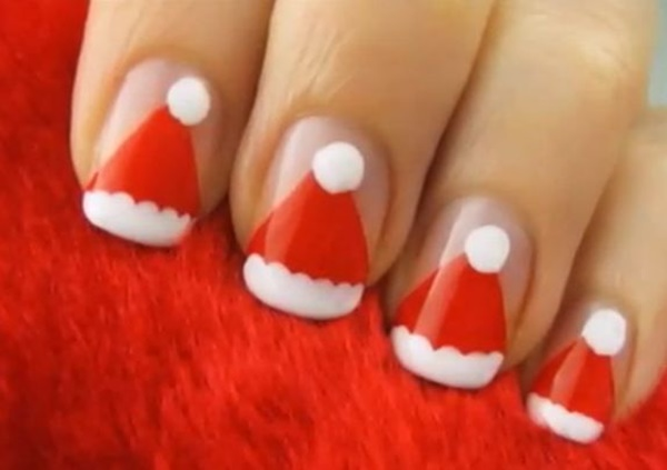 Christmas Nail art Designs and Ideas14