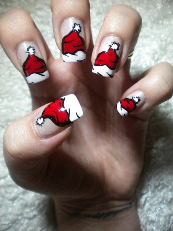 Christmas Nail art Designs and Ideas15